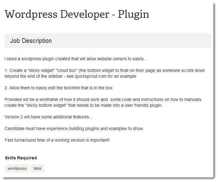 Wordpress-Plugin-Job-Posting