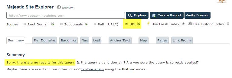 metrics on the Root Domain
