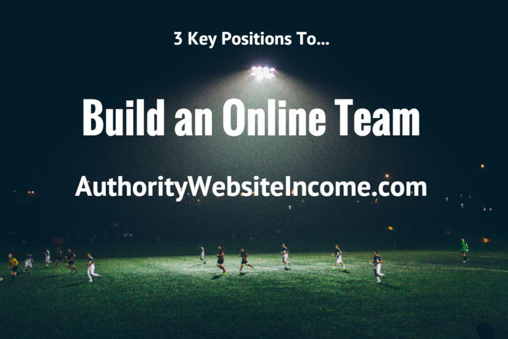 build an online team
