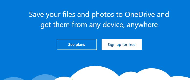 OneDrive-cloud-image-storage