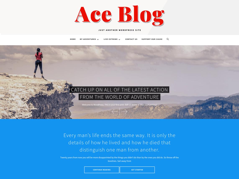 Ace Blog-free-wordpress-blog-themes