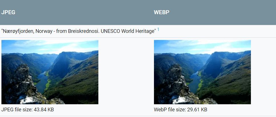 Google-WebP-google-image-optimization-tools
