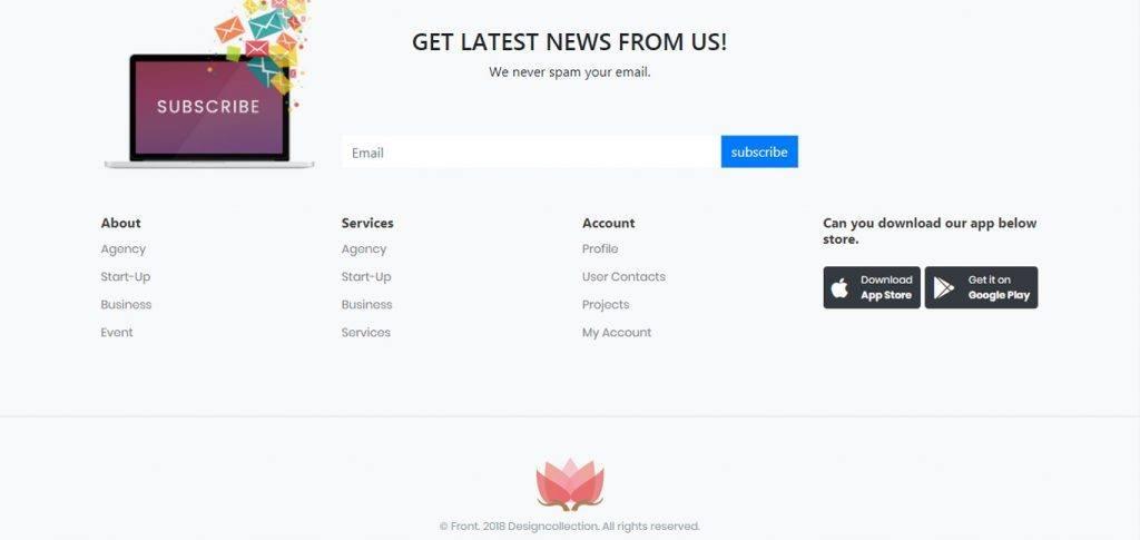 footer-wordpress-bootstrap-plugin