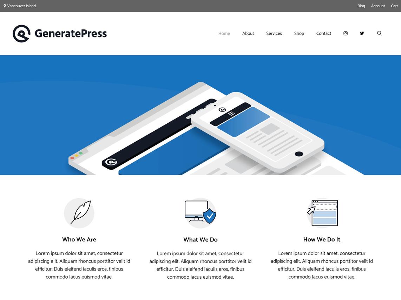 generatepress-free-wordpress-blog-themes
