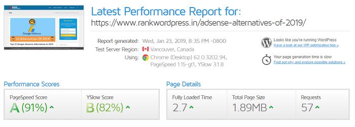 milesweb-wordpress-hosting-test