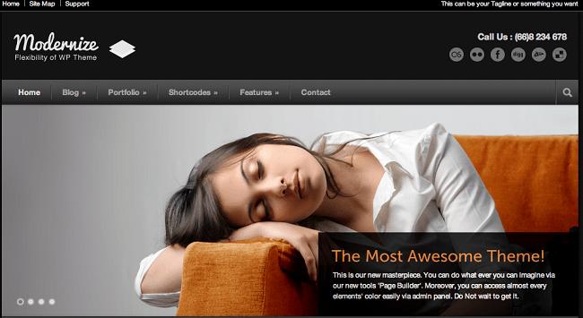 modernize-free-wordpress-blog-themes
