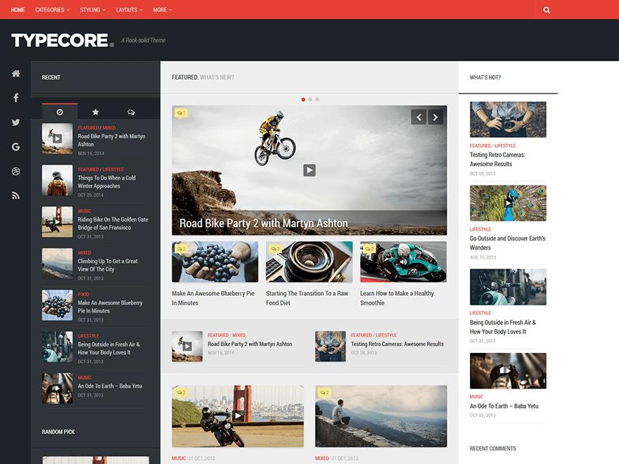 typecore-free-wordpress-blog-themes