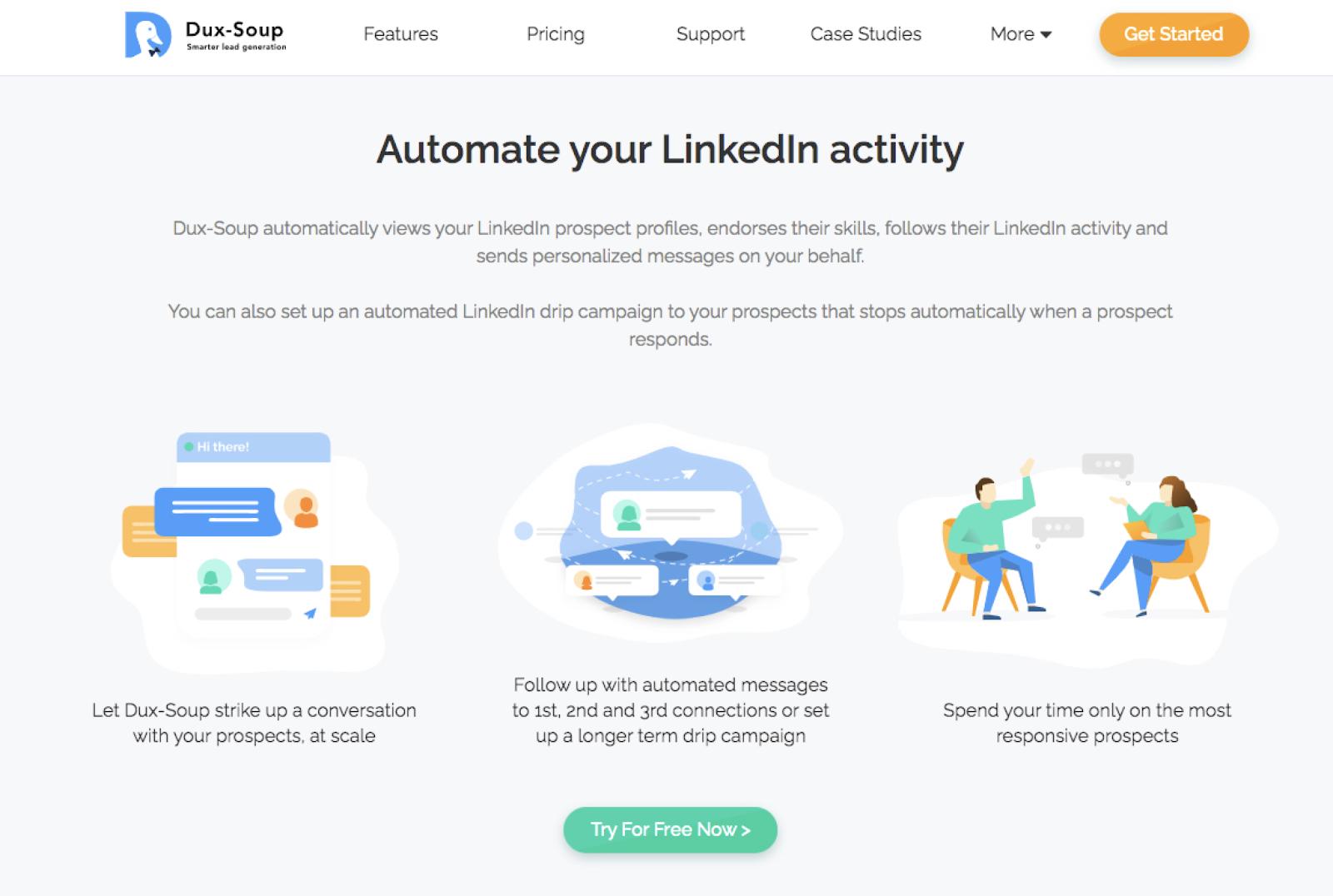 Dux-Soup vs. Octopus Review for LinkedIn Automation
