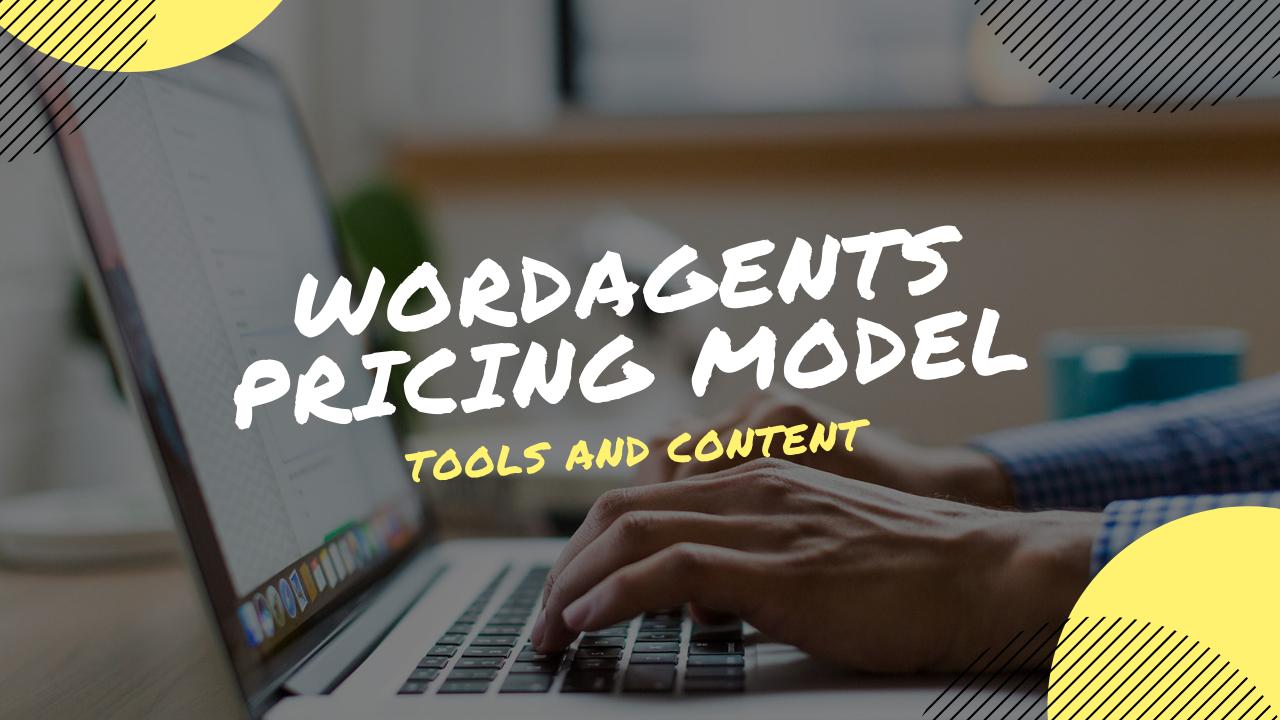 WordAgents Pricing Model